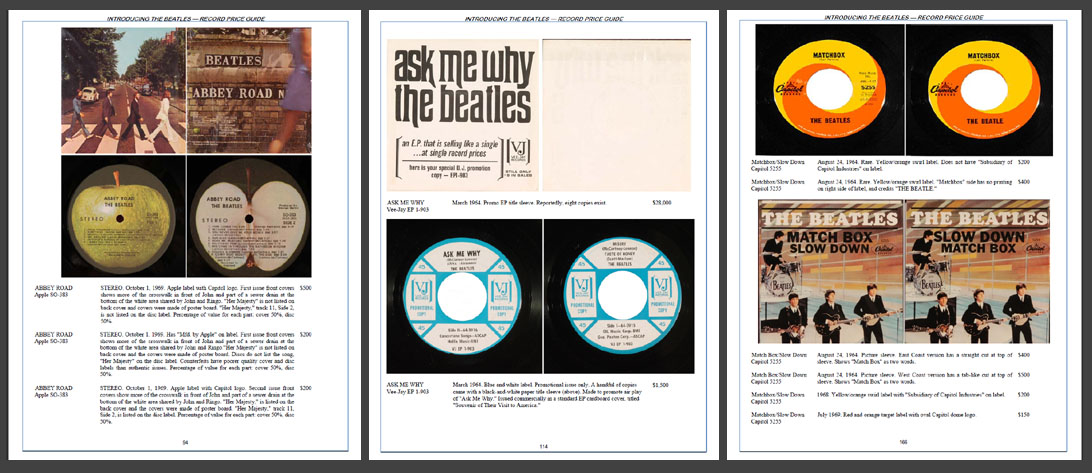 INTRODUCING     THE BEATLES RECORD PRICE GUIDE